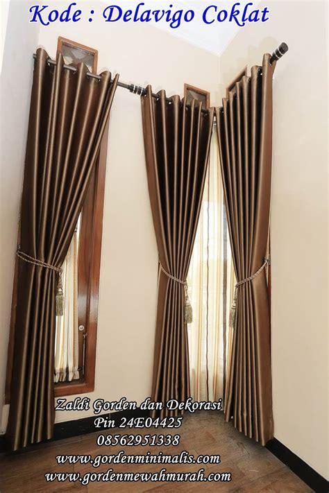Gordyn Tirai Model Kupu gorden rumah minimalis modern terbaru menggunakan bahan