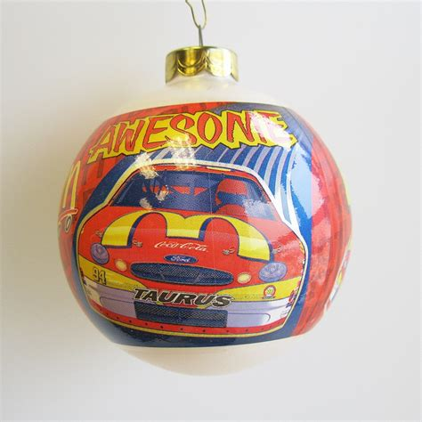 2000 bill elliott nascar hallmark ornament at hooked on