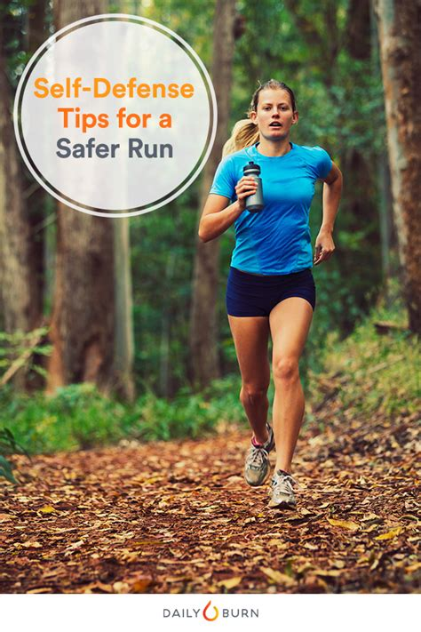 9 tips for running safely running safety tips from a self defense expert daily burn