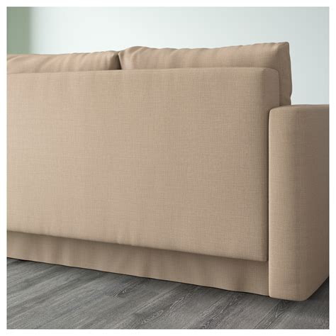 Friheten Corner Sofa Bed With Storage Skiftebo Beige Ikea Ikea Friheten Corner Sofa Bed