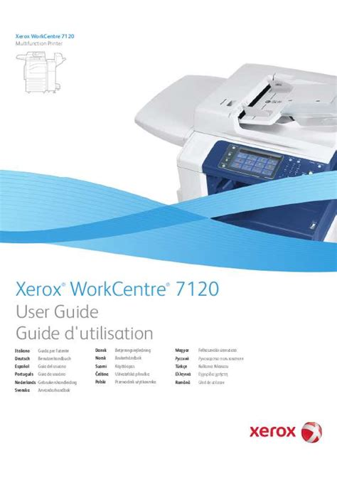 Xerox Cp235w Cover By M notice xerox workcentre 7120 imprimante multifonction