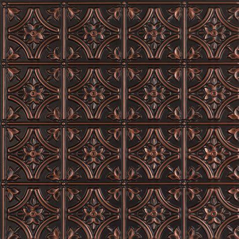 reims faux tin ceiling tile glue up 24 quot x24