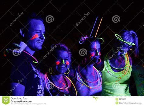 glow in the dark tattoos south africa glow run port elizabeth 2014 south africa editorial photo