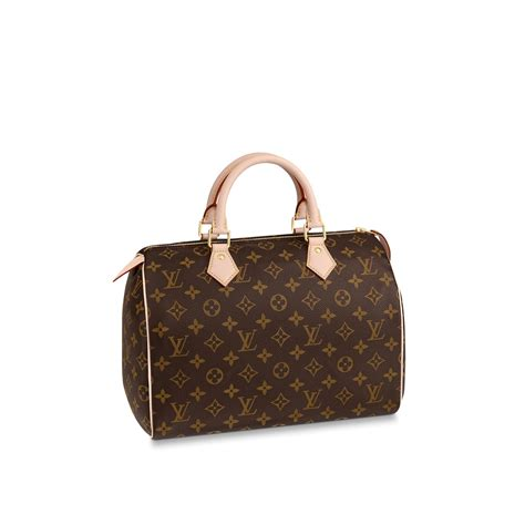 Louis Viton speedy 30 monogram canvas handbags louis vuitton