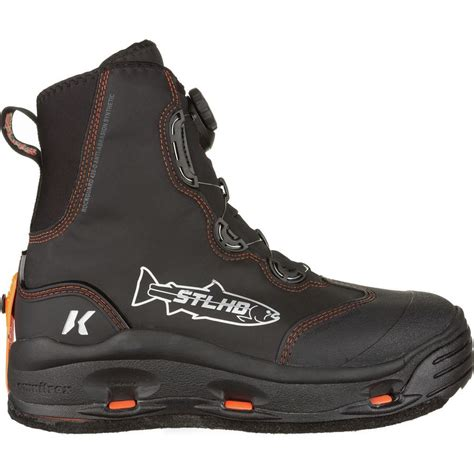 korkers wading boots korkers devil s stlhd wading boot limited edition