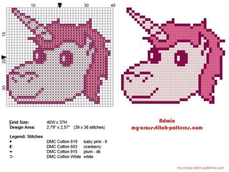 free printable unicorn cross stitch patterns small unicorn face free cross stitch pattern in 40