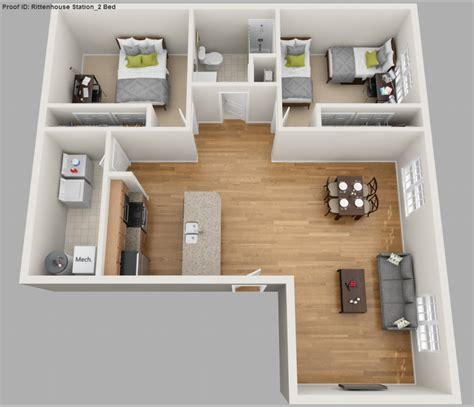 2 bedroom student apartments 2 bedroom 1 bath student apartments rittenhouse station
