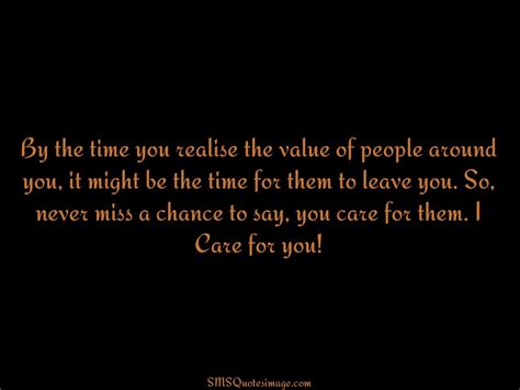 i care about you quotes i care for you wise sms quotes image