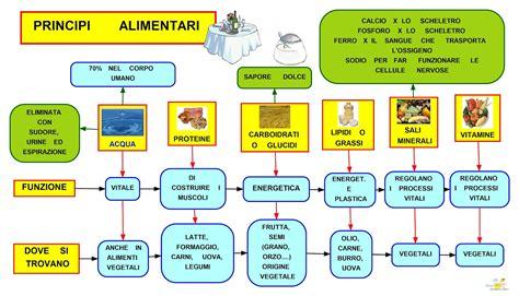mappa concettuale alimentazione matematica e alimentazione