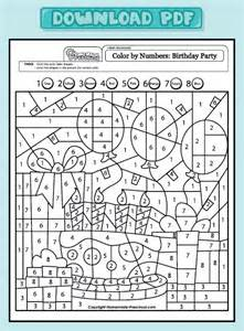 coloring math worksheets free coloring pages of cake and math