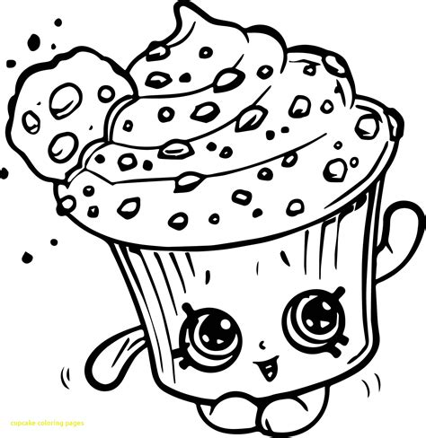 Printable Coloring Pages Of Cupcakes by Cupcakes Printable Coloring Pages Birthday Cupcake Http