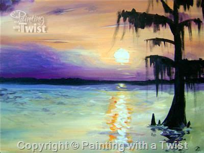 paint with a twist greenville tx louisiana sunset pasadena tx painting class painting