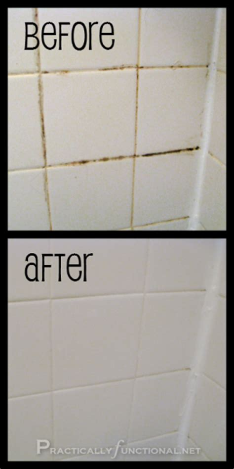 cleaning bathroom tile grout craftionary
