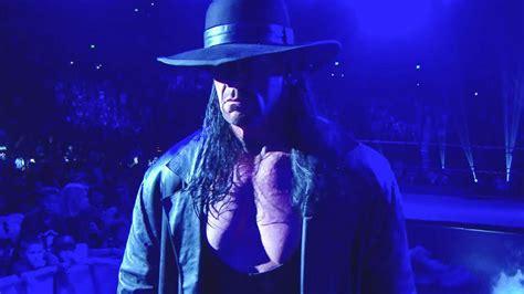 undertaker returns  monday night raw  calls