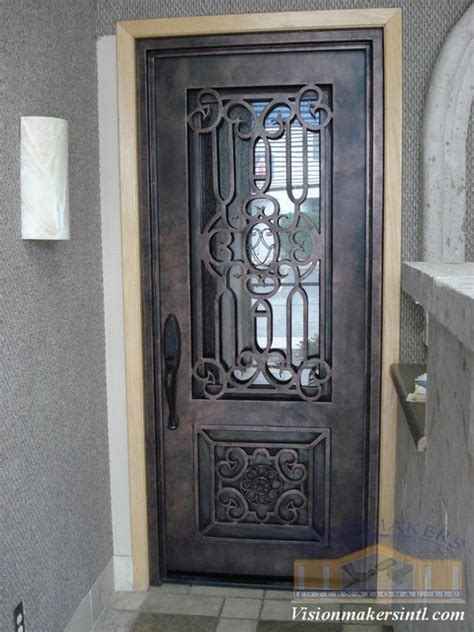 wrought iron doors by visionmakers custom