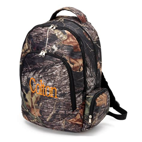 boys camo backpack monogrammed backpacks includes monogram