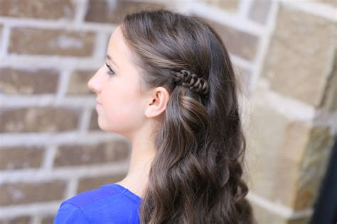 how to create a sides up slide up hairstyle cute girls