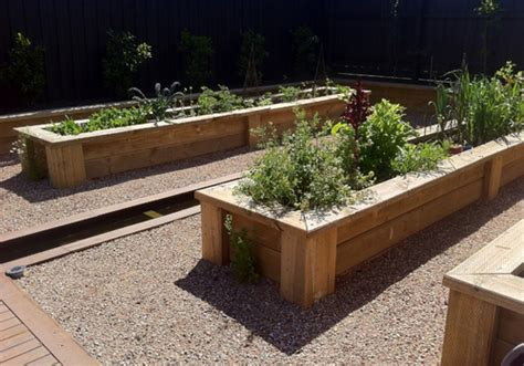 Large Planter Boxes by Wooden Planter Boxes For Gardens And Patios
