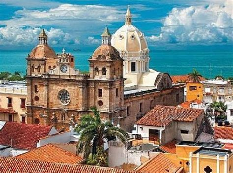 cartagena colombia old town san pedro tourism business