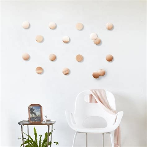 umbra copper confetti dots wall decor set of 16
