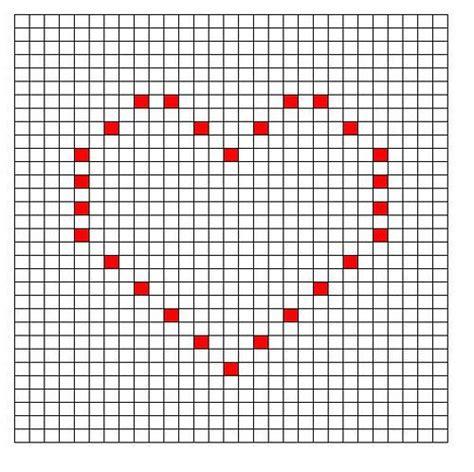 heart graph pattern 17 b 228 sta bilder om bobble stich patterns p 229 pinterest