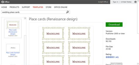 publisher place card template make wedding planning easier using microsoft office