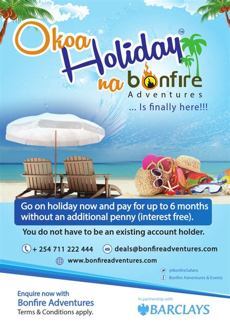bonfire adventures kenya holiday deals destinations
