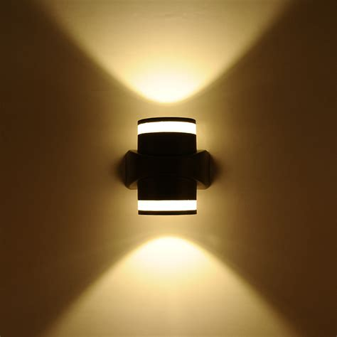 light up words for wall 6w led wall mounted light up down l for home hotel
