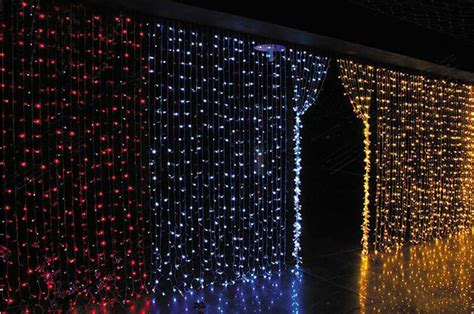 220v led waterfall light christmas lights 6m 3m 880led