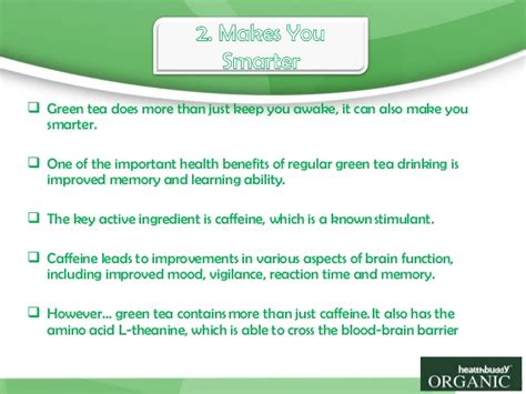 6 Reasons To Be The His Buddies Want To Around by 6 Reasons To Start The Day With A Cup Of Healthbuddy Green Tea