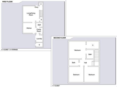 yokosuka naval base housing floor plans cfa yokosuka building 4359 3 bedroom townhome floor