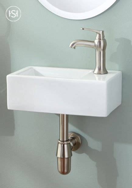 Modern Bathroom Sinks Small Spaces by Muhlen Wall Mount Sink In 2019 Small Space Style Small