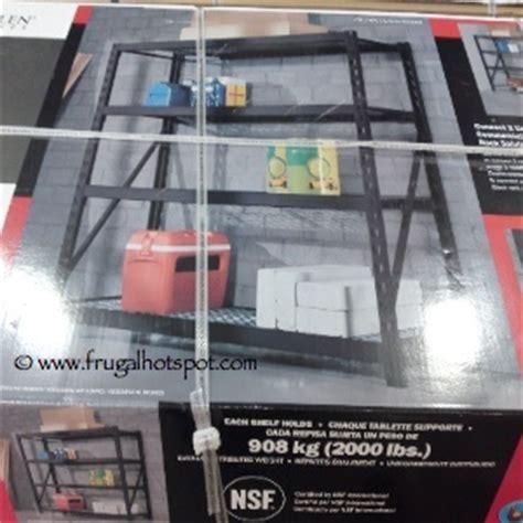 costco deal whalen industrial rack  frugal hotspot