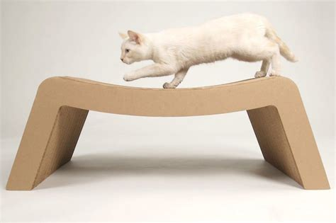 pet chaise lounge prrrounge cardboard made pet s chaise lounge 187 gadget flow