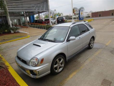 subaru no power find used no reserve subie wrx quot rex quot awd manual power