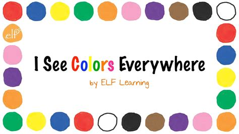 color songs for kids red color youtube the colors song by elf learning color songs for