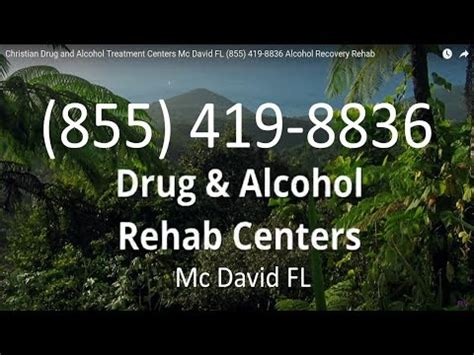 Christian Detox Florida by Christian And Treatment Centers Mc David Fl