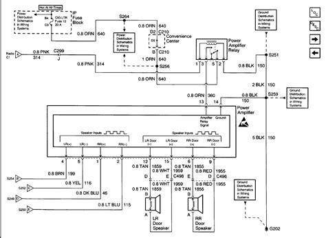 cadillac escalade bose stereo wiring diagram sample