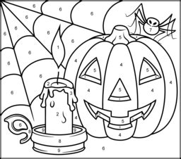 halloween coloring pages numbers halloween coloring online
