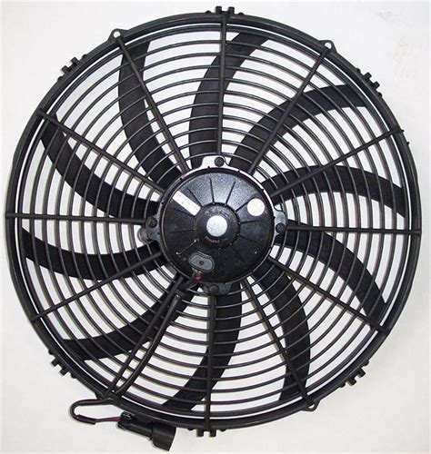 low profile electric radiator fan spal fans amazon proper direction of ceiling fan wiring