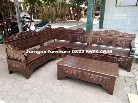 Kursi Sudut Mesir kursi sudut kayu jati mahoni minimalis ukir 100 pilihan juragan furniture jepara