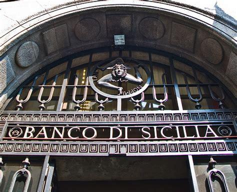banco di sicilia spa economia banche il banco di sicilia testa di ponte nel