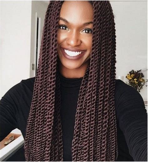 picture of senegalese twist 40 super chic senegalese twist styles we love