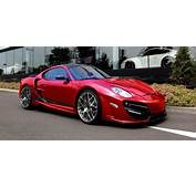 Porsche Cayman With RUSH Aero Package  Body Kits