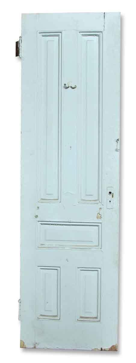 antique interior doors antique narrow doors with ironwork olde narrow five paneled door olde things