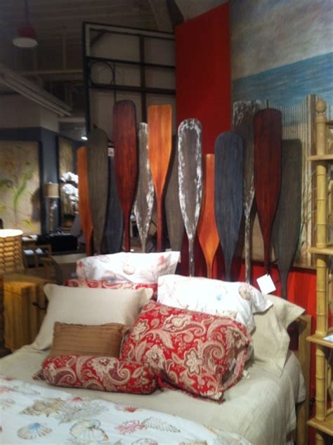 canoe paddle headboard 17 best images about lake house on pinterest floor ls