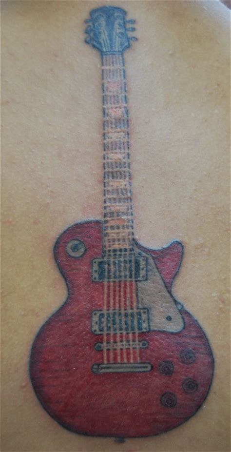 les paul guitar tattoo designs electric guitar design tattooshunt