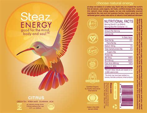 design energy drink label steaz energy drinks samanthasayshellos