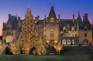 Biltmore estate candlelight christmas evening in asheville north