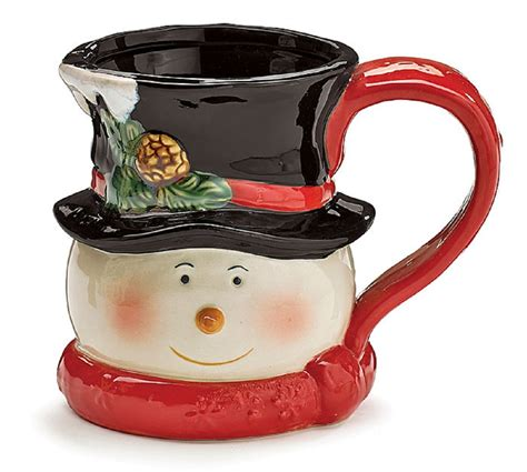 snowman mugs christmas wikii